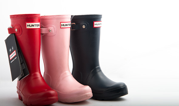 Wellington boots and safety footwear