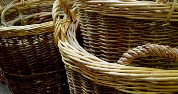 Baskets and storage containers